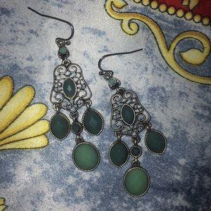 Lia Sophia St Tropaz Chandelier Earrings